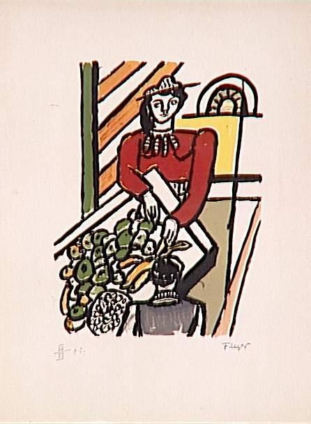 The Merchant of Four Seasons - Fernand Leger