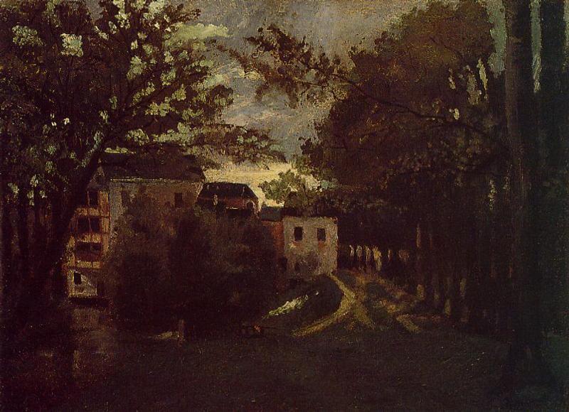 The Mill at La Roche Goyon - Camille Pissarro
