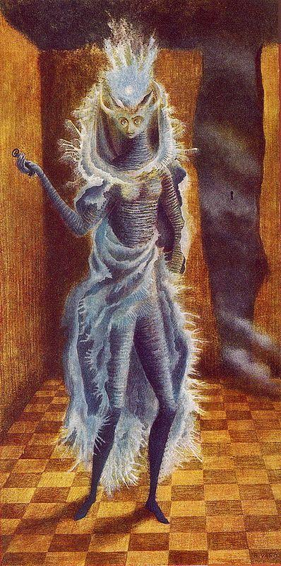 The Minotaur - Remedios Varo