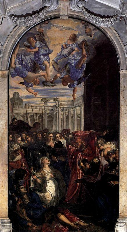The Miracle of St Agnes - Tintoretto