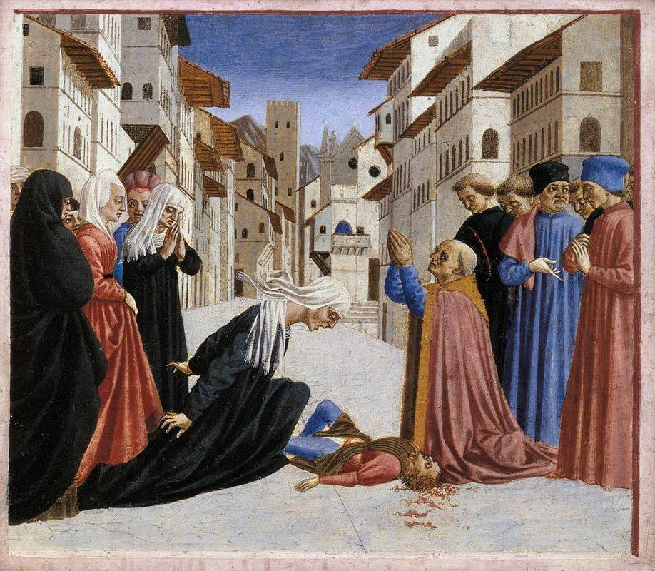 The Miracle of St. Zenobius - Domenico Veneziano