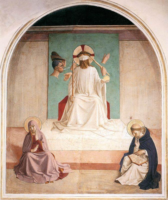 The Mocking of Christ - Fra Angelico