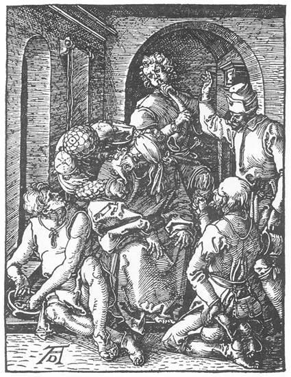 The Mocking of Christ - Albrecht Durer