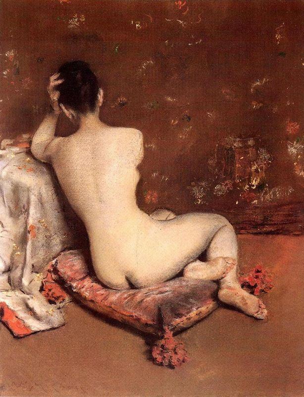 The Model - William Merritt Chase