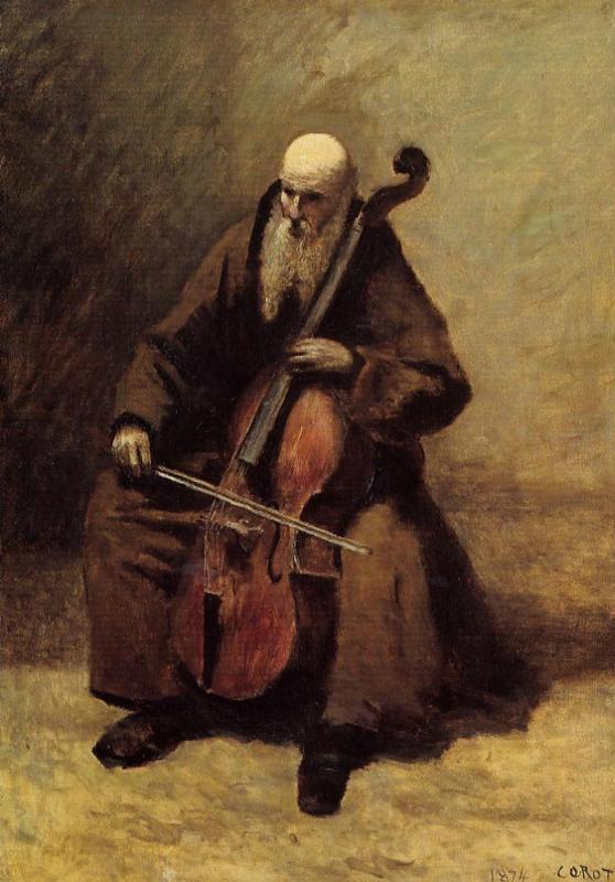 The Monk - Camille Corot