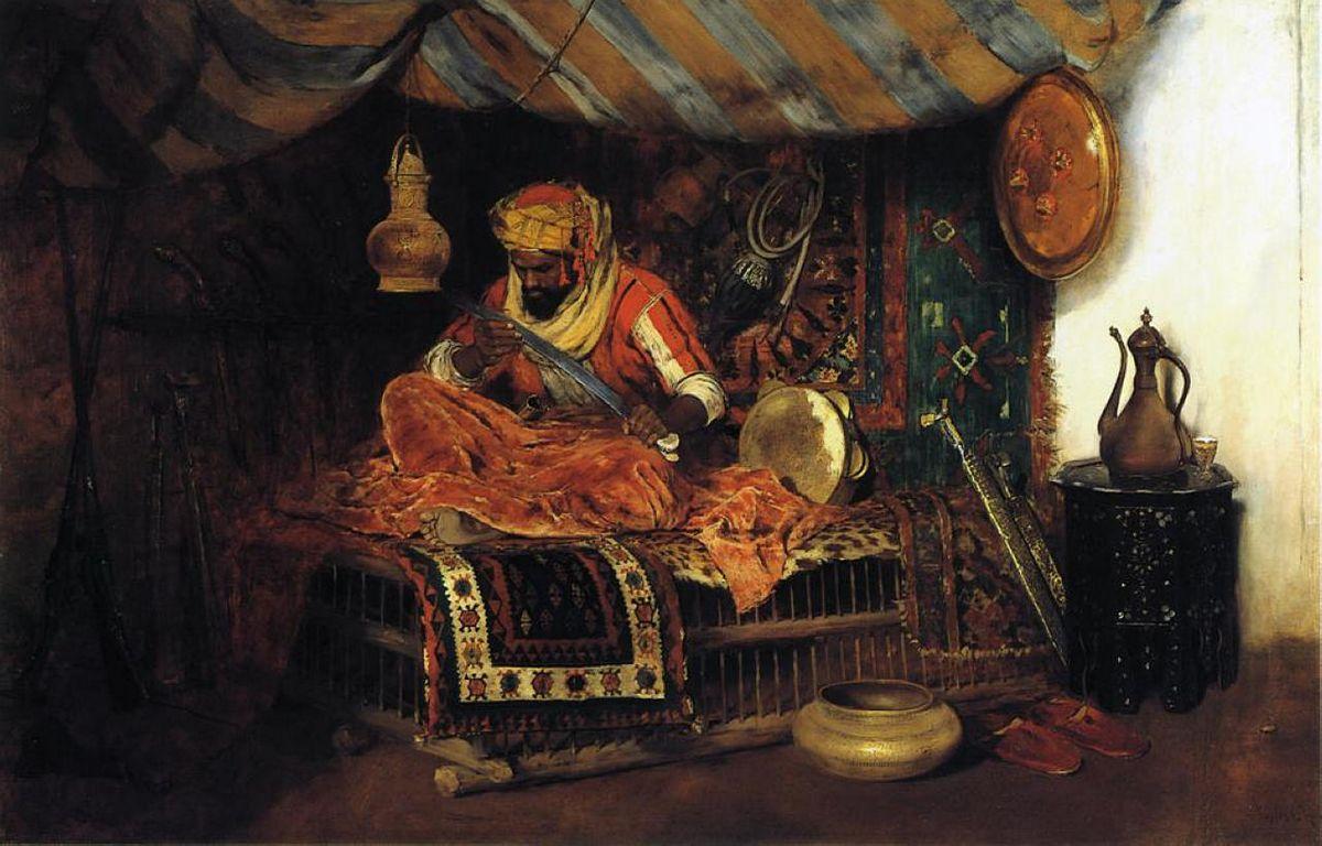 The Moorish Warrior - William Merritt Chase