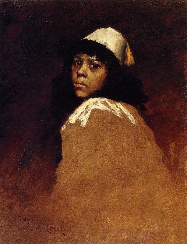 The Moroccan Girl - William Merritt Chase