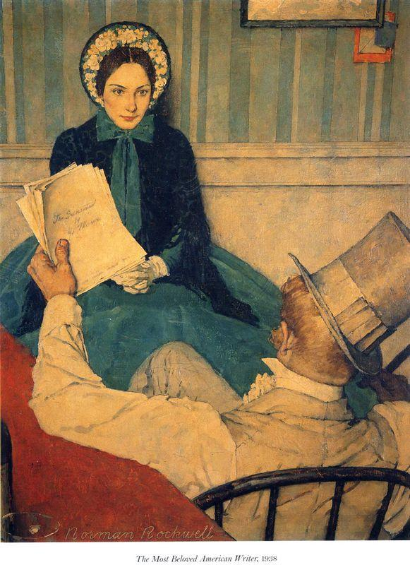 The most beloved american writer - Norman Rockwell