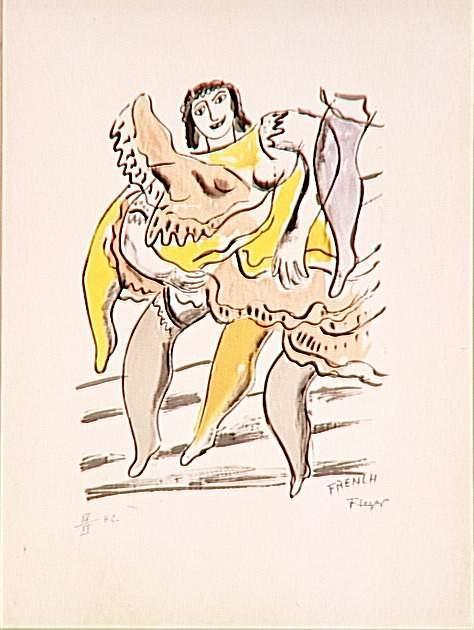 The Moulin Rouge - Fernand Leger