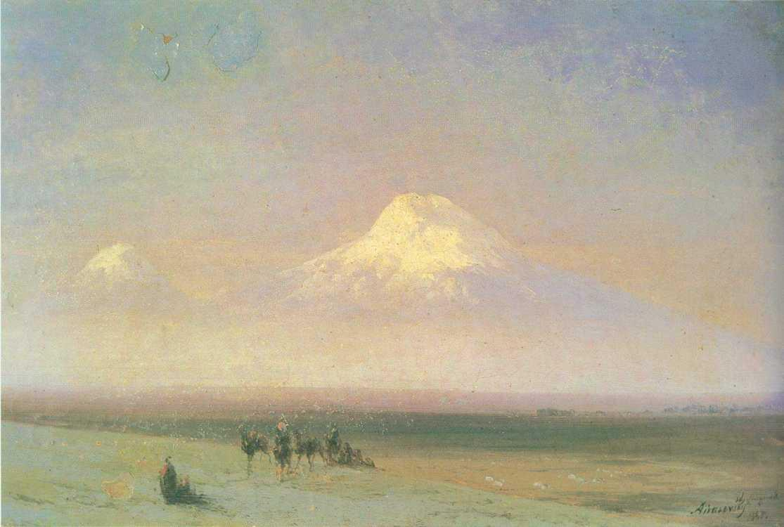 The mountain Ararat - Ivan Aivazovsky