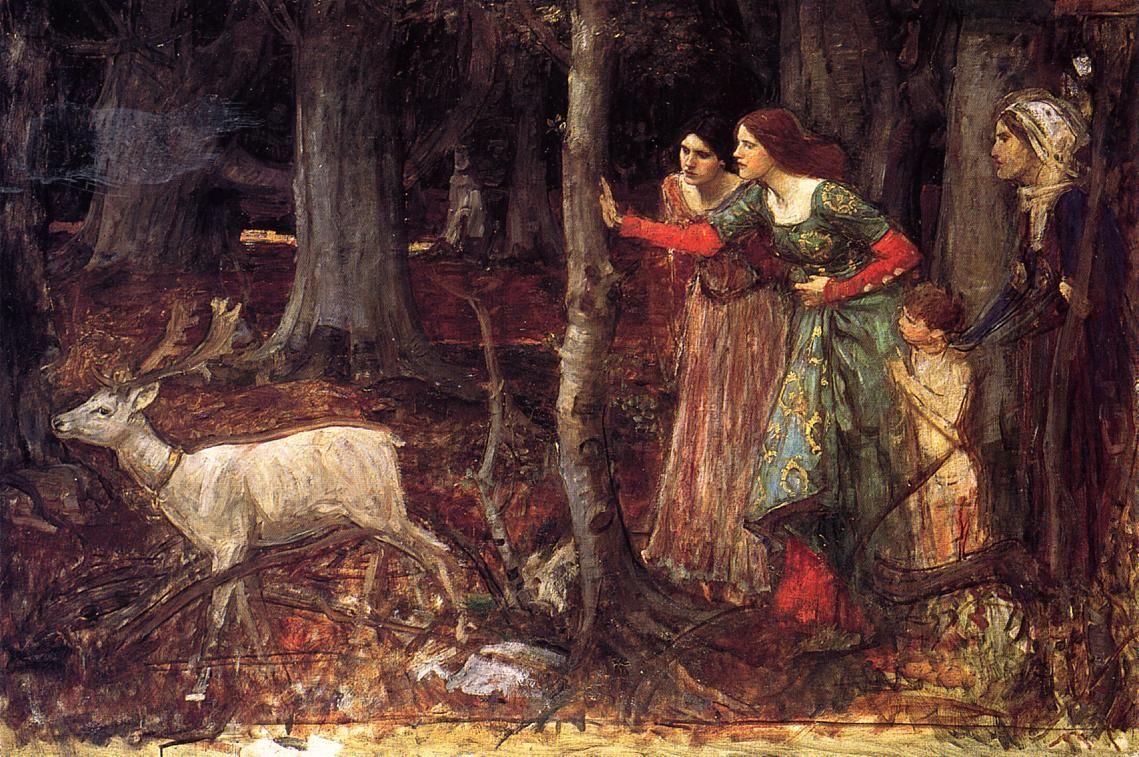 The Mystic Wood - John William Waterhouse
