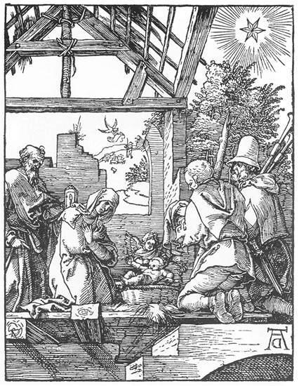 The Nativity - Albrecht Durer