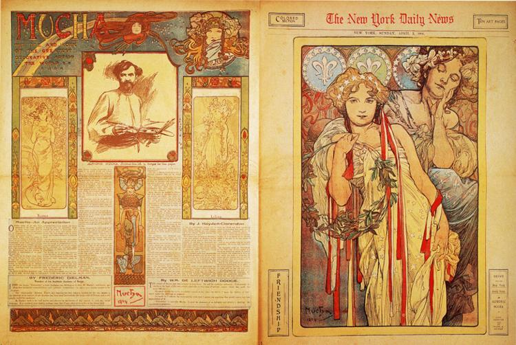 The New York Daily News - Alphonse Mucha