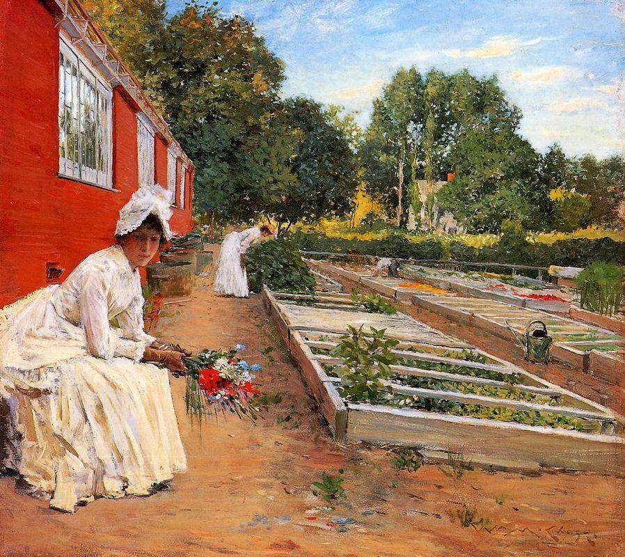 The Nursery - William Merritt Chase