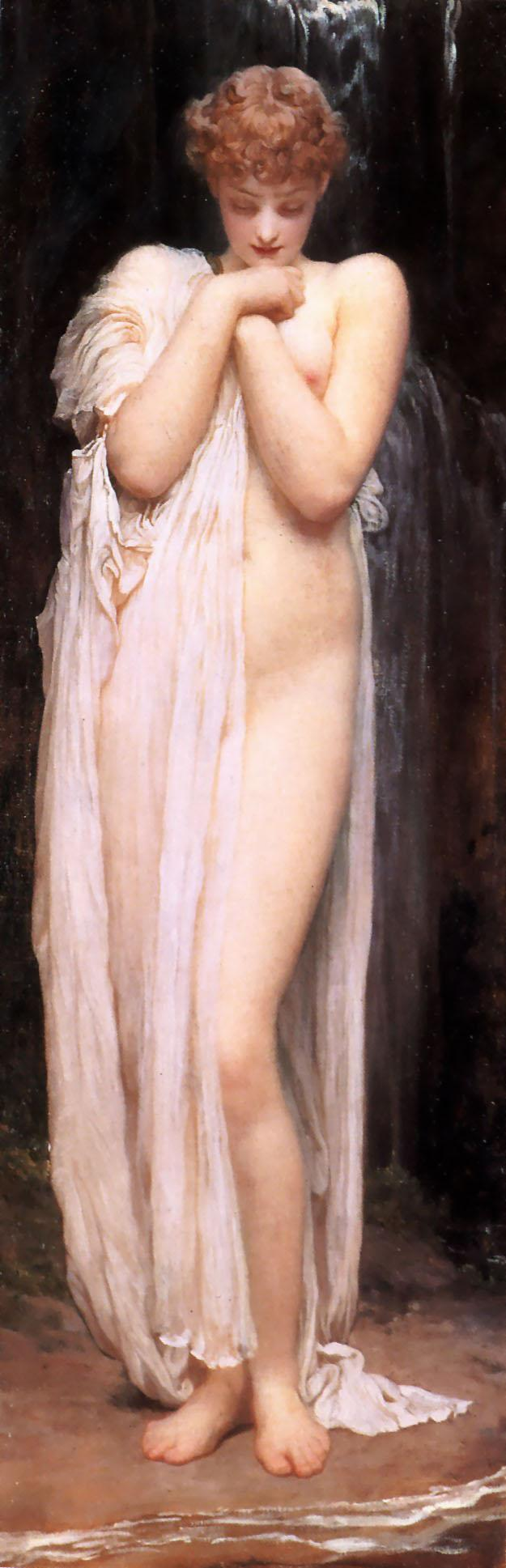 The Nymph of the River - Frederic Leighton