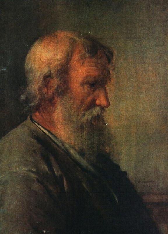 The old man farmer - Vasily Tropinin