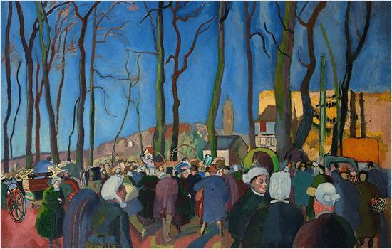 The Onion Market - Raoul Dufy