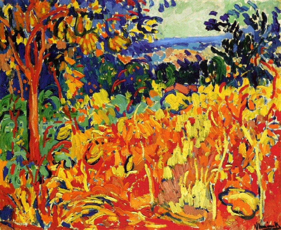 The Orchard  - Maurice de Vlaminck