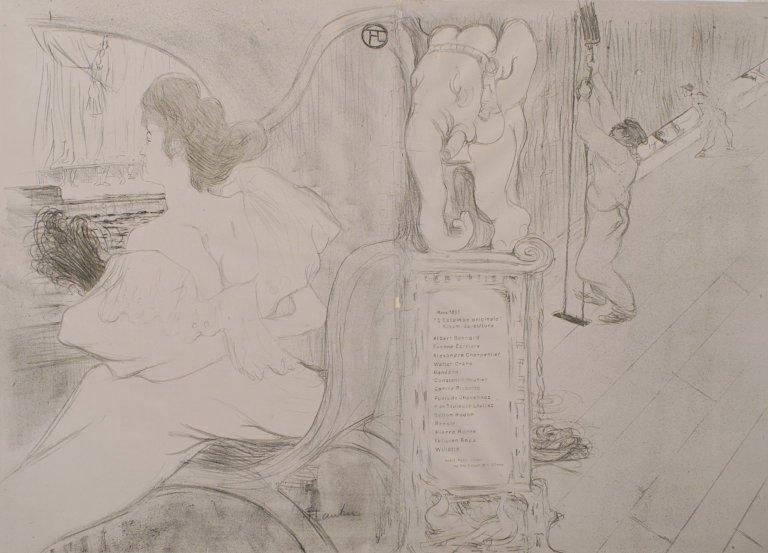 The original cover for Print - Henri de Toulouse-Lautrec