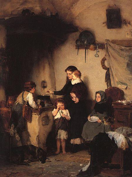 The orphans  - Nikolaos Gyzis