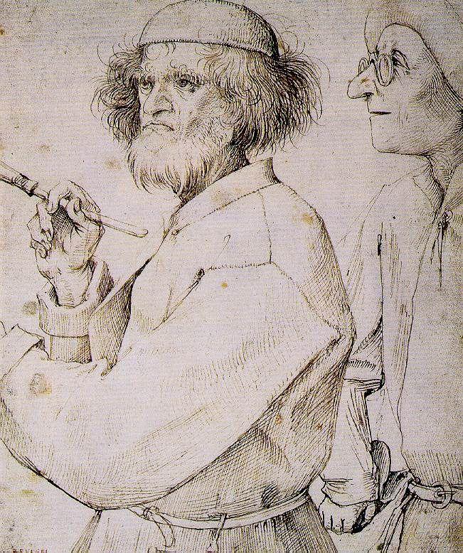 The Painter and the Art Lover - Pieter Bruegel the Elder