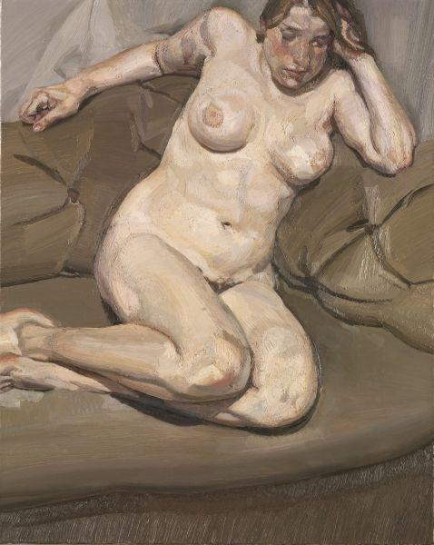 The Painter's Daughter Ib - Lucian Freud