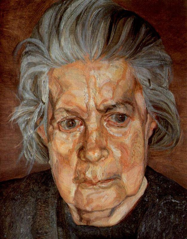 The Painter's Mother II - Lucian Freud