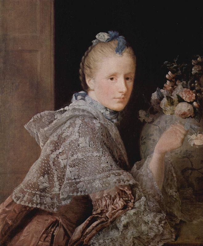 The painter's wife, Margaret Lindsay - Allan Ramsay