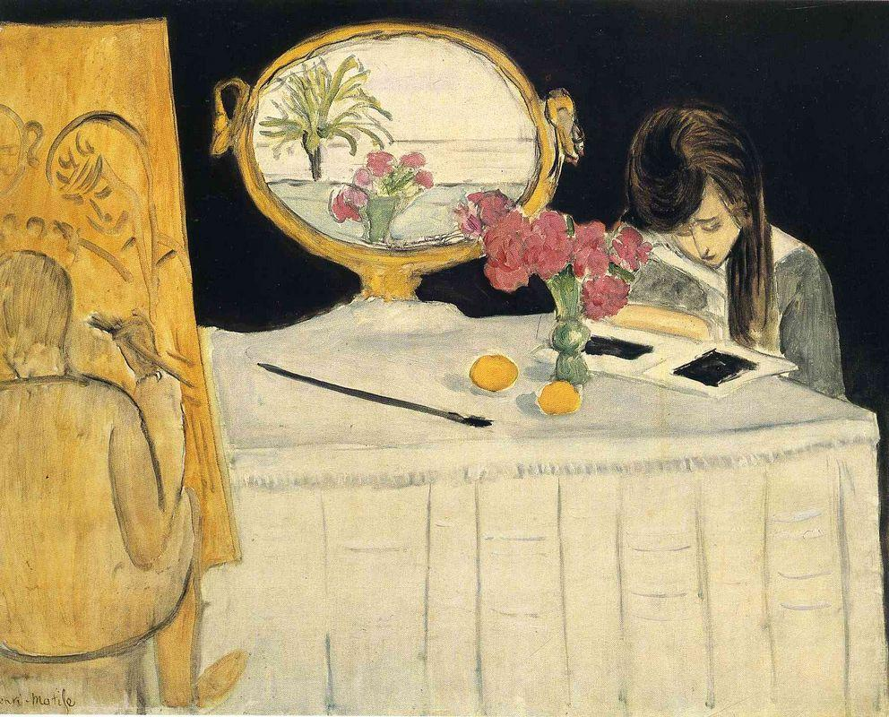 The Painting Lesson - Henri Matisse