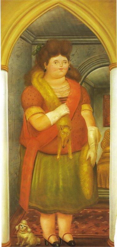 The Palace (1) - Fernando Botero