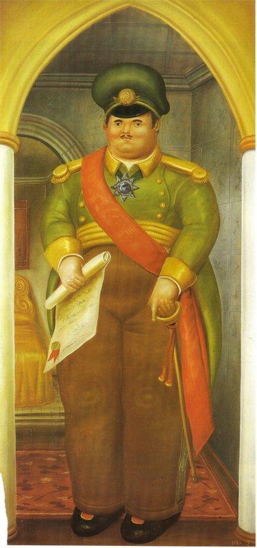 The Palace (2) - Fernando Botero