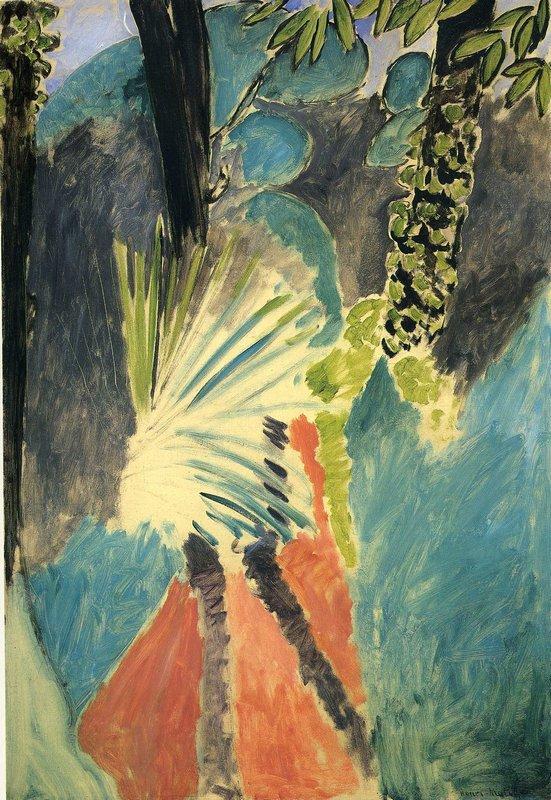 The Palm - Henri Matisse