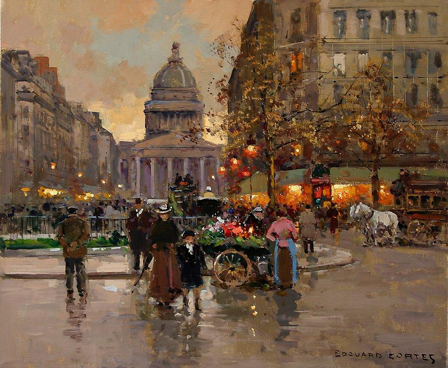 The Pantheon - Antoine Blanchard