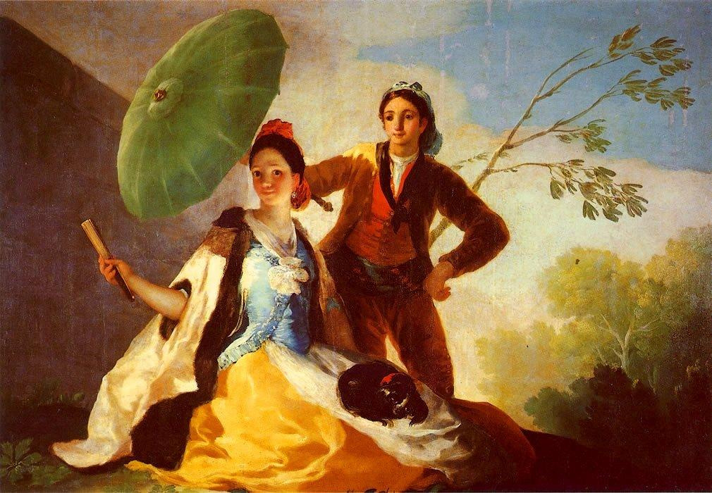 The Parasol - Francisco Goya