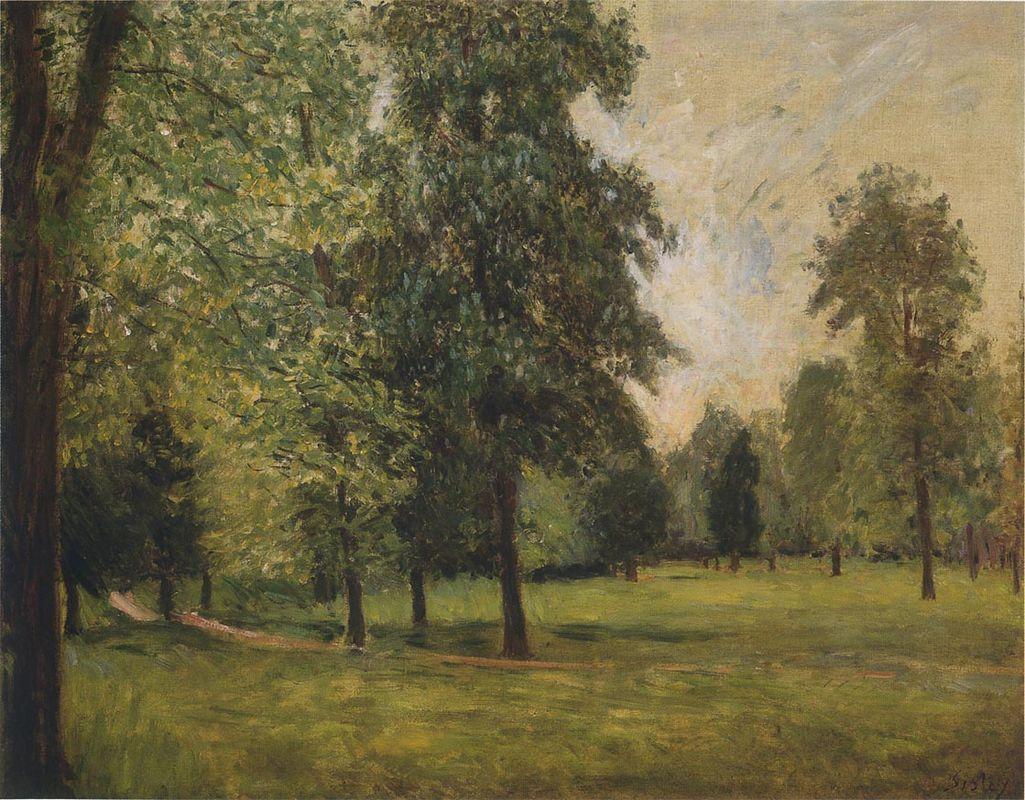 The Park at Sevres - Alfred Sisley