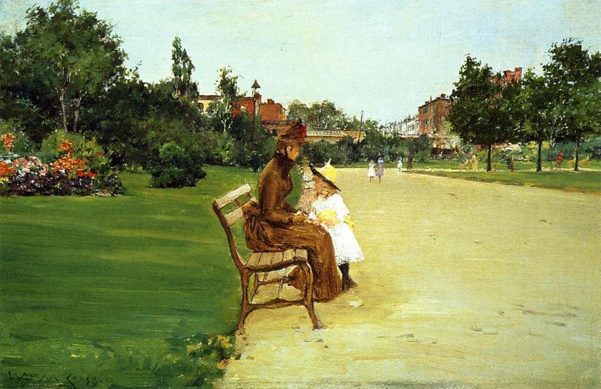 The Park - William Merritt Chase