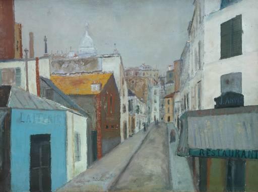 The Passage Cottin - Maurice Utrillo