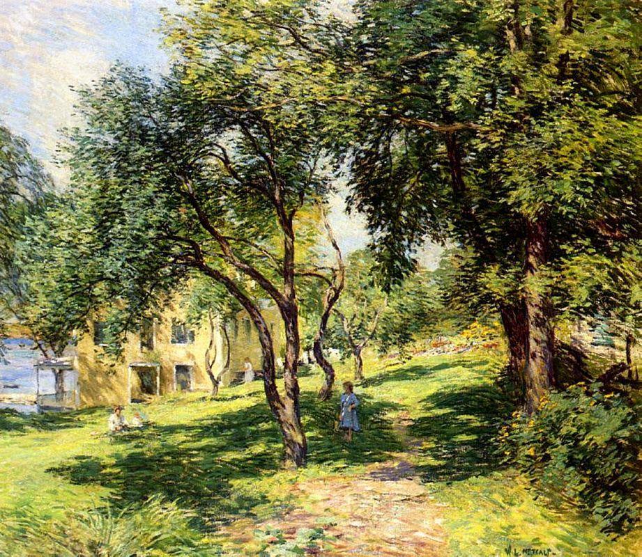 The Path - Willard Metcalf