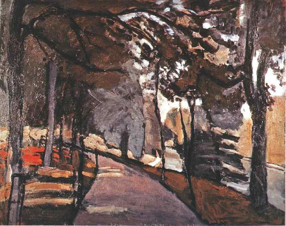 The path in the Bois de Boulogne - Henri Matisse