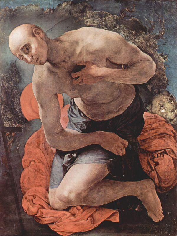 The Penitence of St. Jerome - Jacopo Pontormo