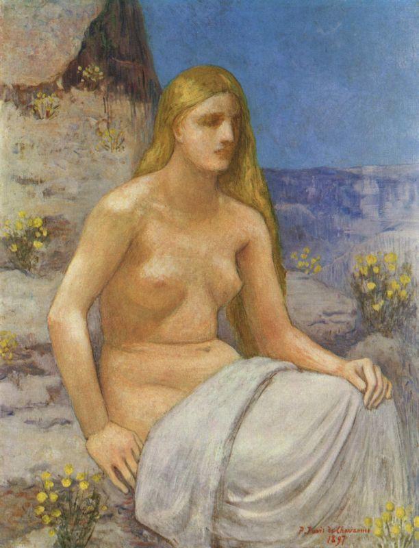 The Penitent Magdalen - Agostino Carracci