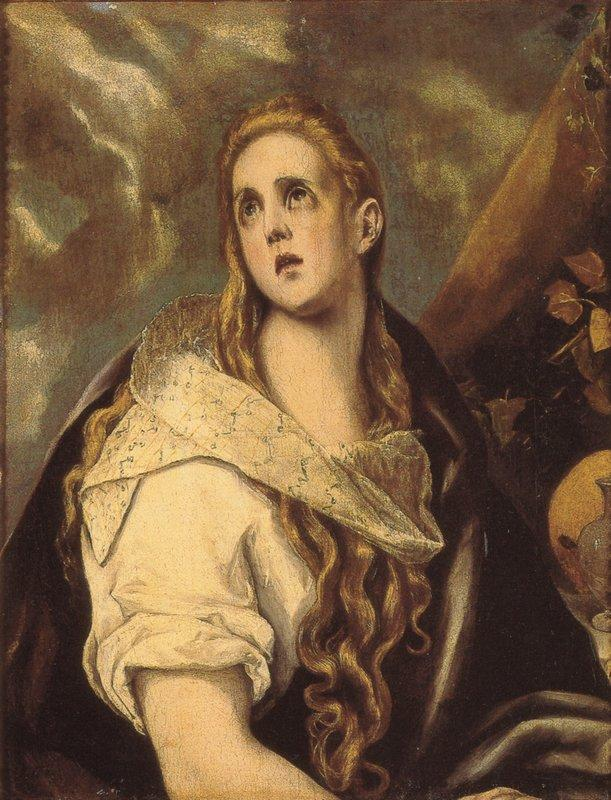 The Penitent Magdalene - El Greco