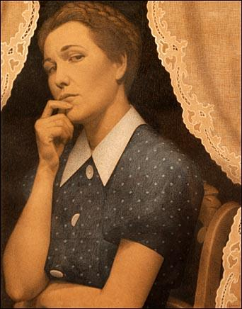 The Perfectionist - Grant Wood