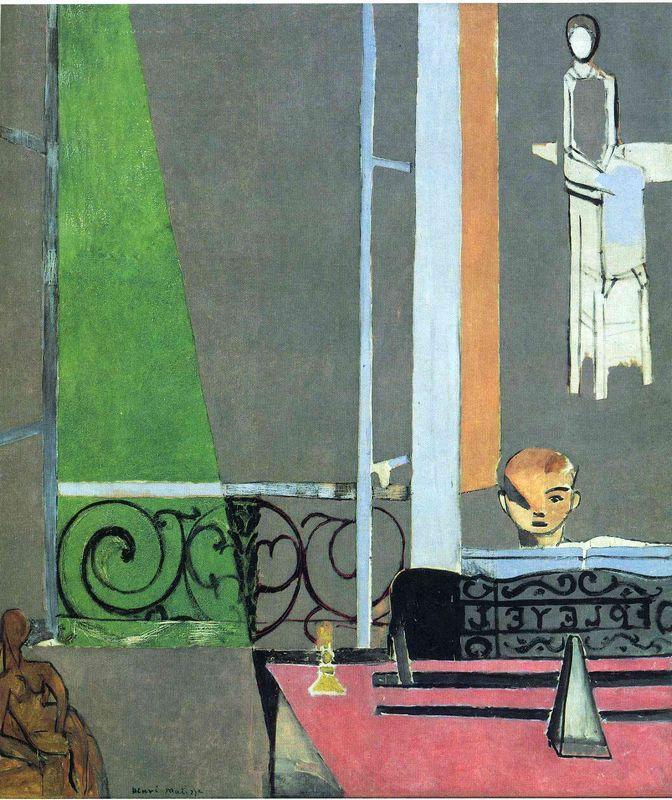 The Piano Lesson - Henri Matisse