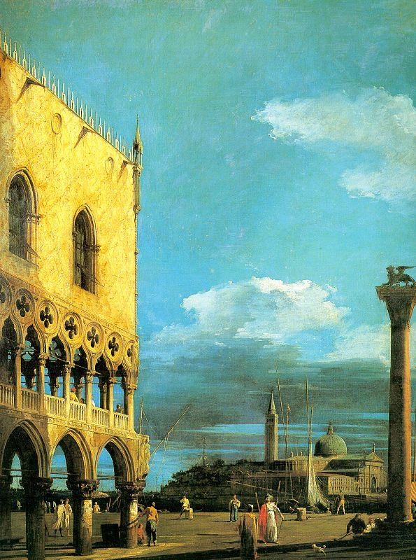 The Piazzet Looking South - Canaletto