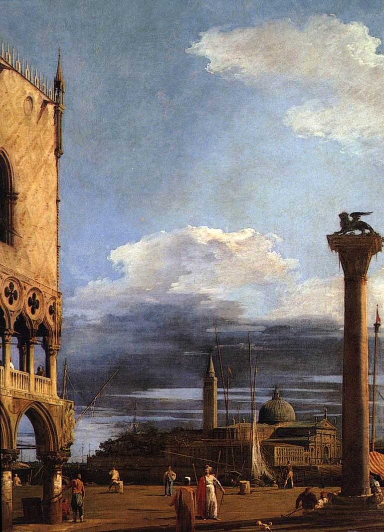 The Piazzetta towards San Giorgio Maggiore - Canaletto