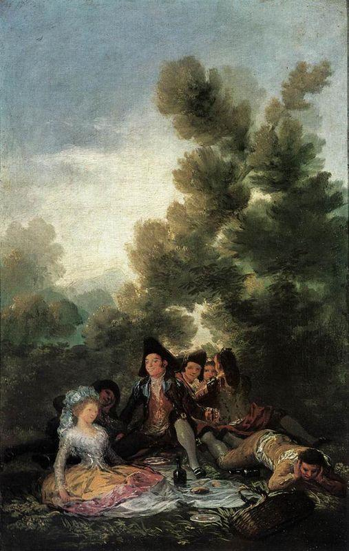 The Picnic - Francisco Goya