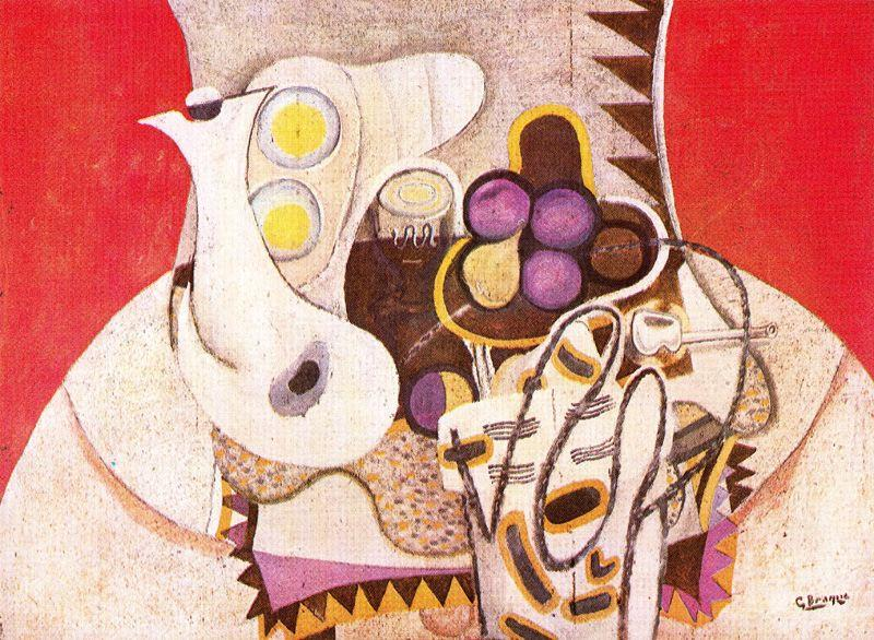 The Pink Napkin - Georges Braque