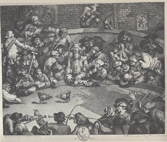 The Pit - William Hogarth
