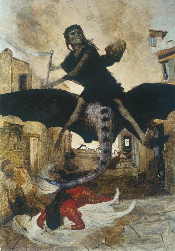 The Plague - Arnold Bocklin
